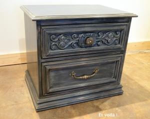 Cire et voil atelier for Peinture a lancienne pour meuble