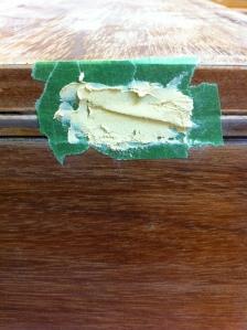 Bien poser de la pâte à bois