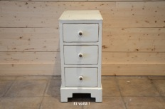 Vintage filing cabinet - off white - etvoilaatelier