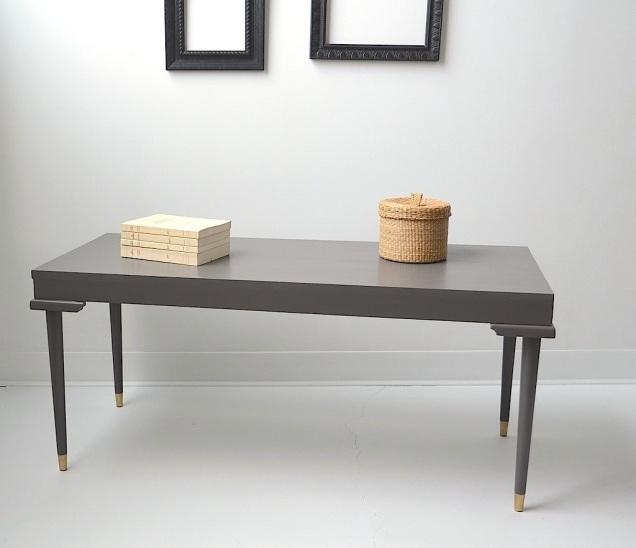 La table au sortir de l'atelier