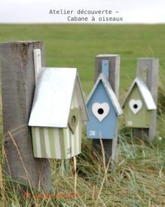 cabane à oiseaux à décorer peindre en atelier - par etvoila atelier