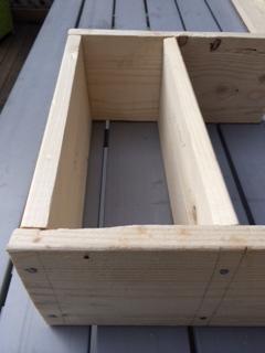 tutoriel r aliser un moule en planches de r cup et voil atelier. Black Bedroom Furniture Sets. Home Design Ideas