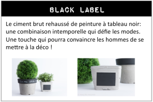 image gamme ciment black label printemps